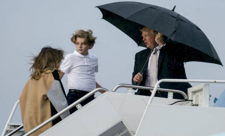 Donald Trump, ce gentleman! (PHOTOS)