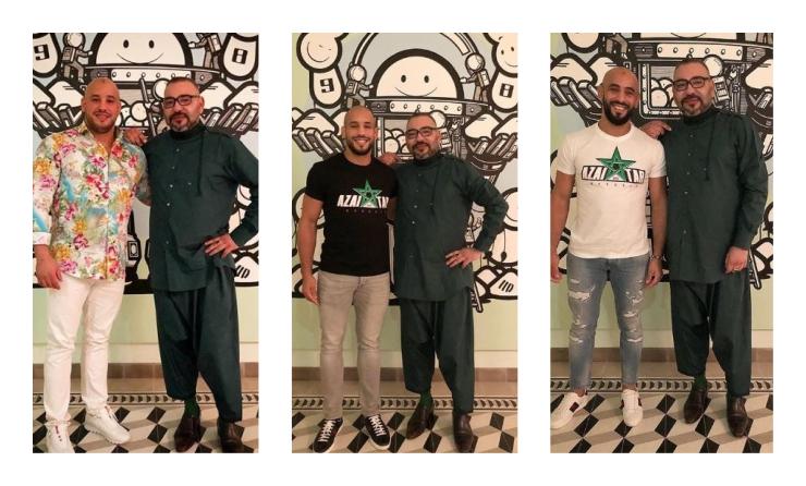 Resultado de imagen de Mohamed VI avec Azaitar