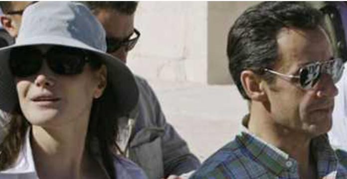 Photos. Carla Bruni et Nicolas Sarkozy à Marrakech pour le Nouvel An